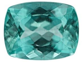 Green Blue Apatite 9.3x7.3mm Rect Cushion 2.40ct min wt.