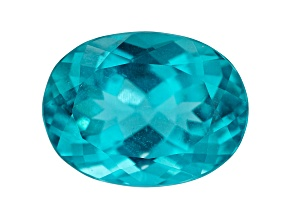 Paraiba Color Apatite 10.70ct 16x12mm Oval