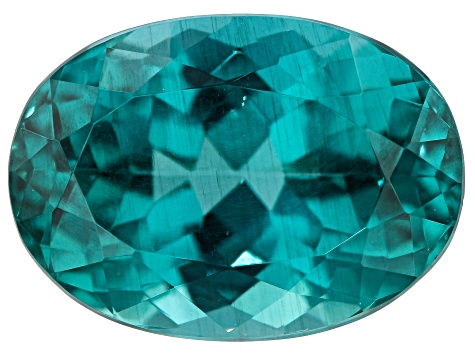 Paraiba Color Apatite 8.15ct 14x10mm Oval