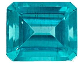 Paraiba Color Apatite 6.23ct 10x10mm Rect Oct