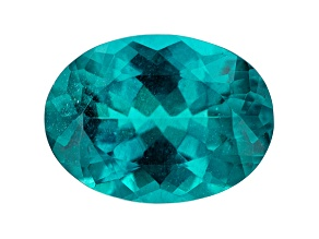 Paraiba Color Apatite 18x13mm Oval 11.56ct