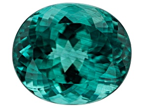Paraiba Color Apatite 9.27ct 14x12mm Oval