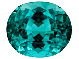 Paraiba Color Apatite 10.33ct 14x12mm Oval
