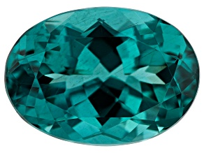 Paraiba Color Apatite 6.56ct 14x10mm Oval