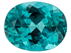 Paraiba Color Apatite 2.96ct 10x8mm Oval