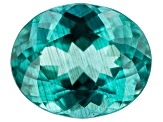 Paraiba Color Apatite 4.07ct 11.3x9.2mm Oval