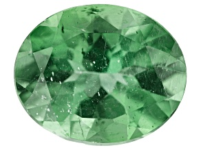 4.69ct Green Apatite 12x10mm Oval