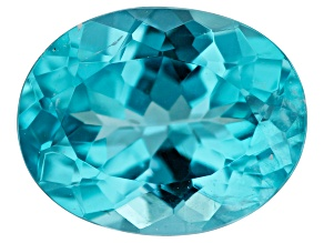 2.05ct Paraiba Color Apatite 9.3x7.3mm Oval