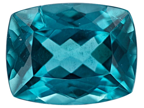 Blue Apatite 13x10mm Reactangular Cushion 6.79ct