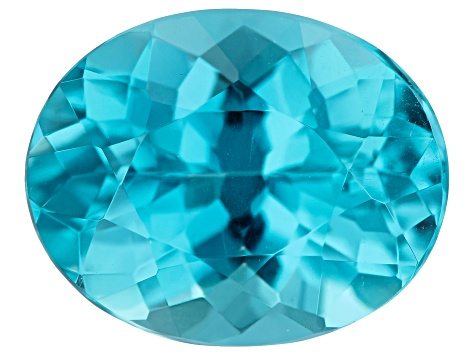 3.61ct Paraiba Color Apatite 11x9mm Oval