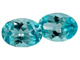 Apatite 7x5mm Oval Matched Pair 1.50ctw