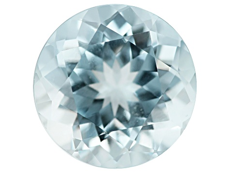 Aquamarine 3.40ct 10mm Round