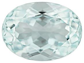Aquamarine 9.21ct 15.3x11.3mm Oval