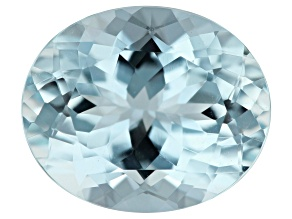 4.49ct Aquamarine 12x10mm Oval