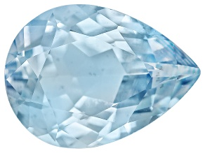 Aquamarine 8x6mm Pear Shape .75ct