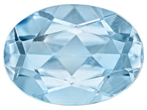 Aquamarine 7x5mm Oval .65ct