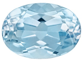 Aquamarine 7x5mm Oval .75ct