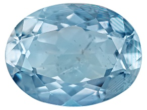 Aquamarine 8x6mm Oval 1.00ct