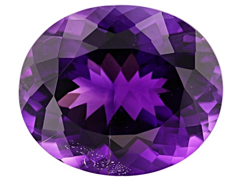 Amethyst 13x11mm Oval 5.82ct