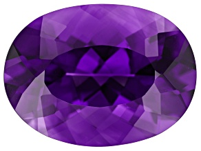 Amethyst 20x15mm Oval 14.00ct