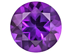 Amethyst 7mm Round 1.00ct