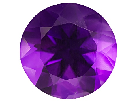 Amethyst 12mm Round 5.00ct