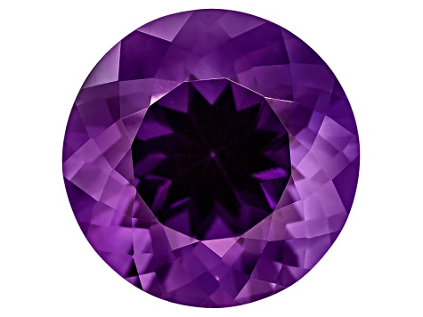 Amethyst 15mm Round 10.50ct
