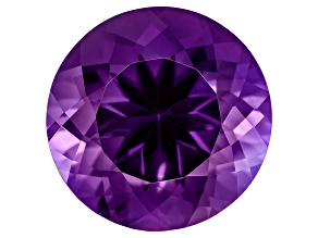 Amethyst 17mm Round 15.50ct