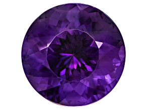 Amethyst 17mm Round 18ct