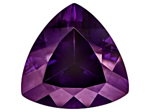 Amethyst 15mm Trillion 8.75ct