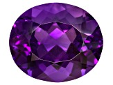 Amethyst 12x10mm Oval 4.25ct