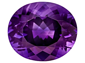 Purple Amethyst 16x14mm Oval 10.25ct