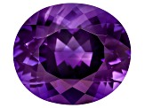 Amethyst 16x14mm Oval 10.25ct