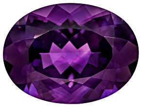 Amethyst 19x14mm Oval 12.25ct