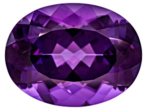 Amethyst 20x15mm Oval 15.20ct