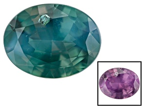 Alexandrite 6.6x5mm Oval 0.71ct
