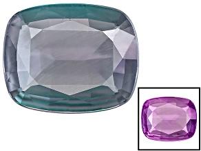 Alexandrite Color Change Rectangular Cushion .10ct