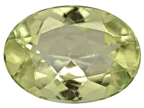 Amblygonite 7x5mm Oval 0.60ct
