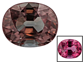 Garnet Color Change 8.59x6.95mm Oval 2.76ct