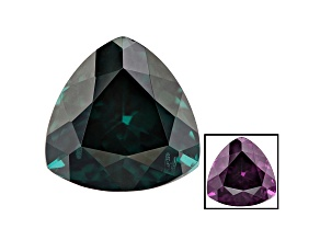 Blue Garnet Color Change 7.6mm Trillion 2.15ct