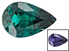 Blue Garnet Color Change 7x4.6mm Pear Shape 0.58ct