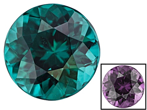 0.43ct Blue CC Garnet 4.5mm Round