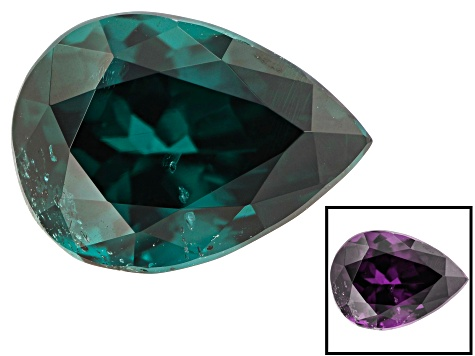 Blue Garnet Color Change 7.2x5.2mm Pear Shape 1.26ct