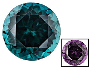 2.28ct Masasi Blue Color Change Garnet 7.5mm Round