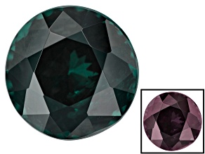 1.72ct Masasi Blue Color Change Garnet 6.7mm Round