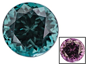 1.57ct Masasi Blue Color Change Garnet 6.3mm Round