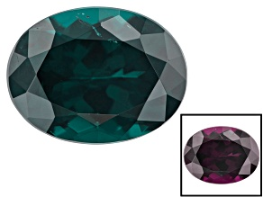 Blue Garnet Color Change Oval 1.75ct