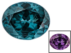 Blue Garnet Color Change Oval 1.10ct