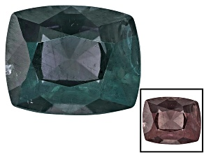 Blue Garnet Color Change 7.66x6.22mm Rectangular Cushion 1.85ct