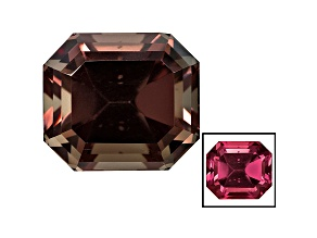Garnet Color Shift Emerald Cut 5.71ct
